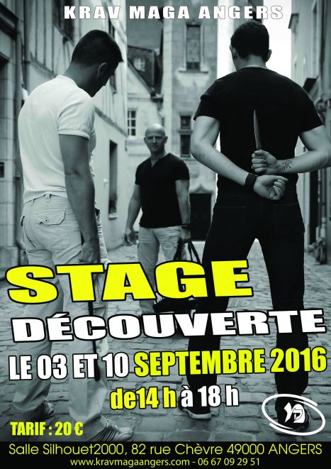 Stage DECOUVERTE 2016